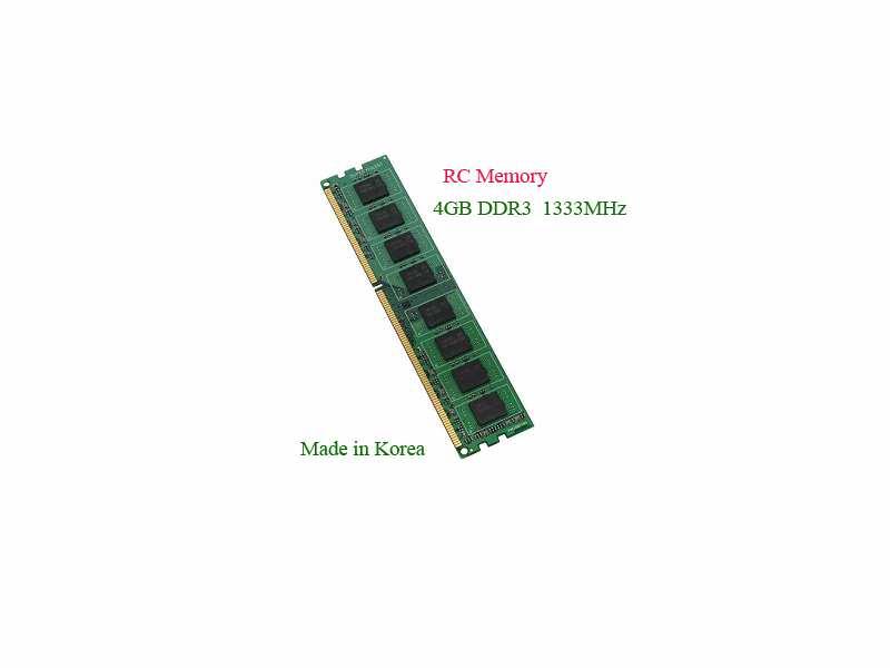 4GB DDR3 1333Mhz RC, CL8