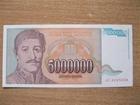 5.000.000 dinara   1993.   UNC