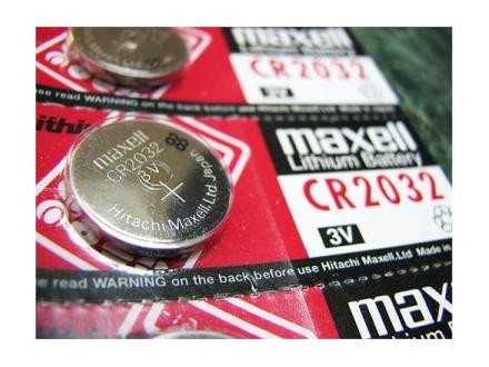 5 x Maxell CR2032 3V Lithium Battery (za maticne ploce)