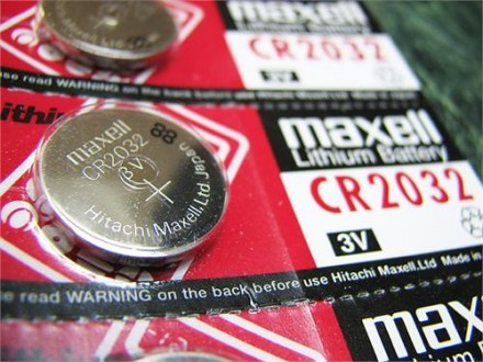 5 x Maxell CR2032 3V Lithium Battery (za maticne ploce)