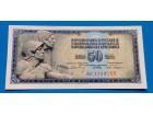 50 Dinara 1968 UNC