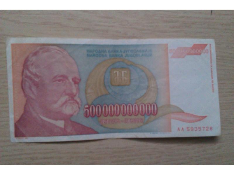 500 000 000 000 DINARA IZ  1993.GODINE