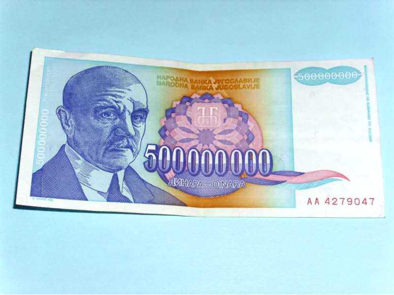 500 000 000 DIN. - 1993