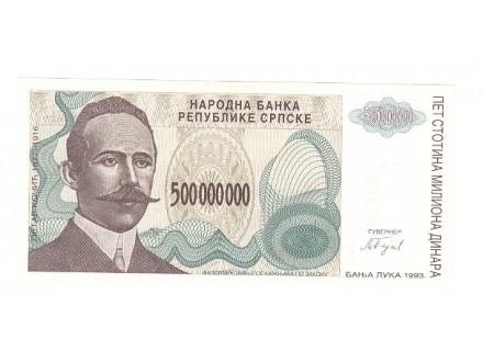 500.000.000.dinara Republika Srpska,1993,unc.