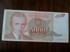5000 Dinara iz 1993 godine.