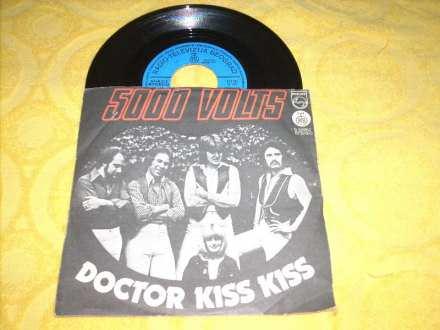 5000 Volts - Doctor Kiss Kiss / Thunderfire 7` singl