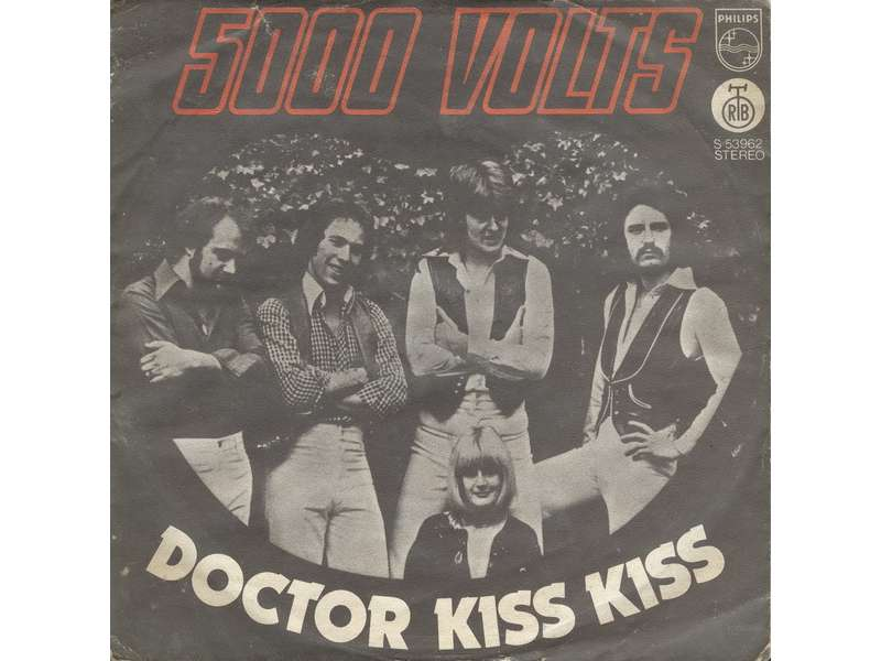 5000 Volts - Doctor Kiss Kiss / Thunderfire