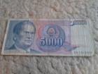 5000.din.TITO SFRJ..NOVČANICA