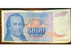 5000 dinara iz 1994. - Dositej Obradović