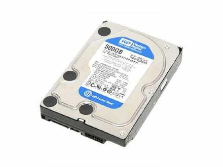 500GB SATA3 Western Digital WD5000AAKX 16MB, 7200