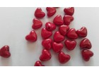 567.Akrilna  perla srce 10mm/10kom