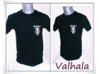 6.1.p.Valhala crna majica L M,S