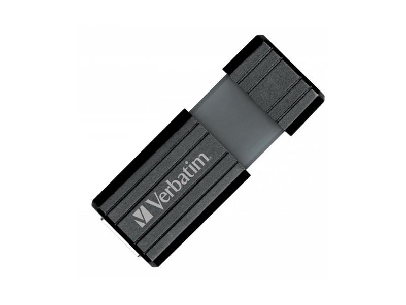 64GB Verbatim 49065 PinStripe Black