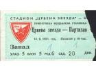 68. derbi Crvena Zvezda - Partizan , 14.06.1981.god.