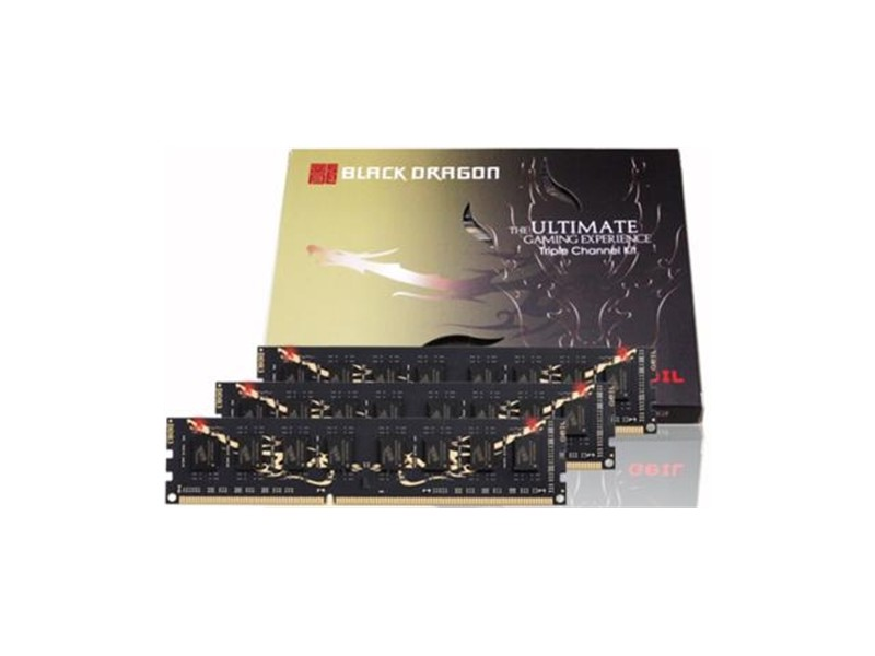 6GB DDR3 1600MHz Geil Black Dragon (3x2GB)