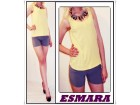 7.2.p.Esmara žuta  M  majica