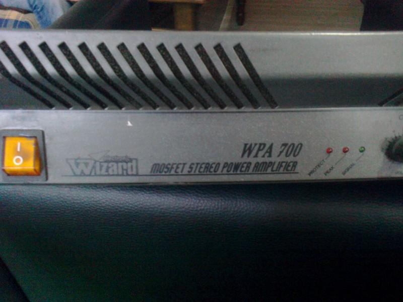 700W Pojacalo Wizard WPA 700