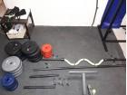 78 kg tegova/2 jednorucne/ravna/kriva sipka/stalak