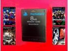8 MB Modovana kartica za PS2 + 4 igrice gratis