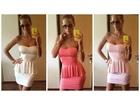 85)  Prelepa  Push up haljina sa gloknicama