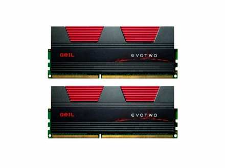 8GB 2X4GB DDR3 2666Mhz Geil Evo Two CL11 GET38GB2666C11DC