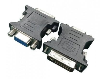 A-DVI-VGA-BK Gembird Adapter DVI-A 24-pin male to VGA 15-pin HD (3 rows) female, black