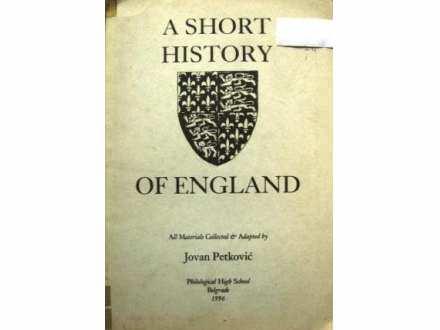 A SHORT HISTORY OF ENGLAND - Jovan Petković