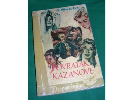 A. Šnicler - Povratak Kazanove