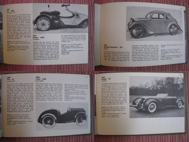 A source book of vintage and post-vintage cars