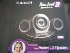 A4TECH Headset 3 to 2.1 Speakers USB