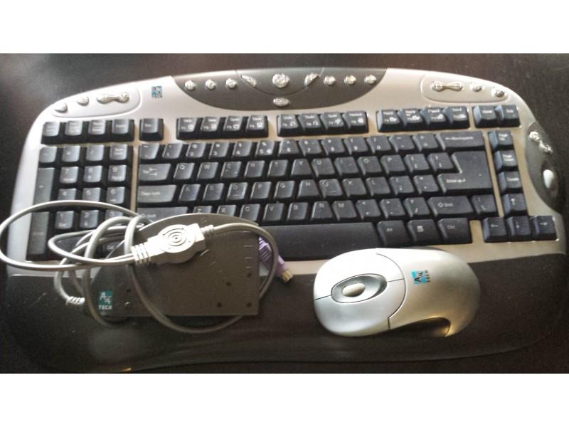 A4Tech Bezicna tastatura i mis