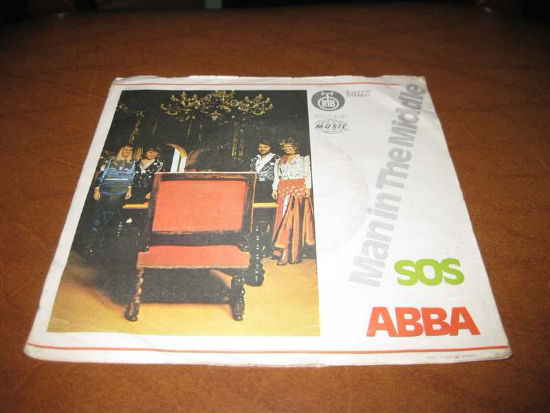 ABBA - SOS / Man In The Middle