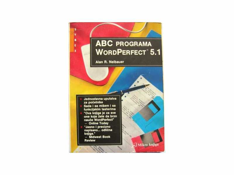 ABC PROGRAMA Word Perfect 5.1 - Alan R. Neibauer