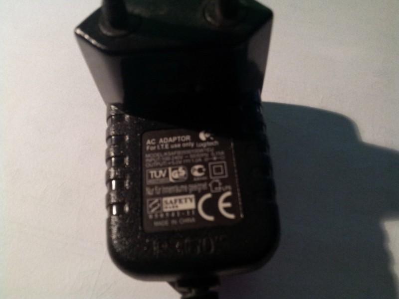 AC/DC ADAPTER Logitech 5V/1000mA