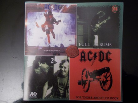 AC/DC - Blow Up Your Video/For Those About To Rock