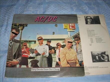AC/DC-Dirty Deeds Done Dirt Cheap LP Suzy