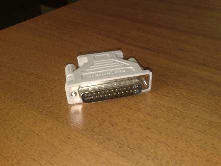 ADAPTER 25 pin DSub DB25 Male 9 pin DSub
