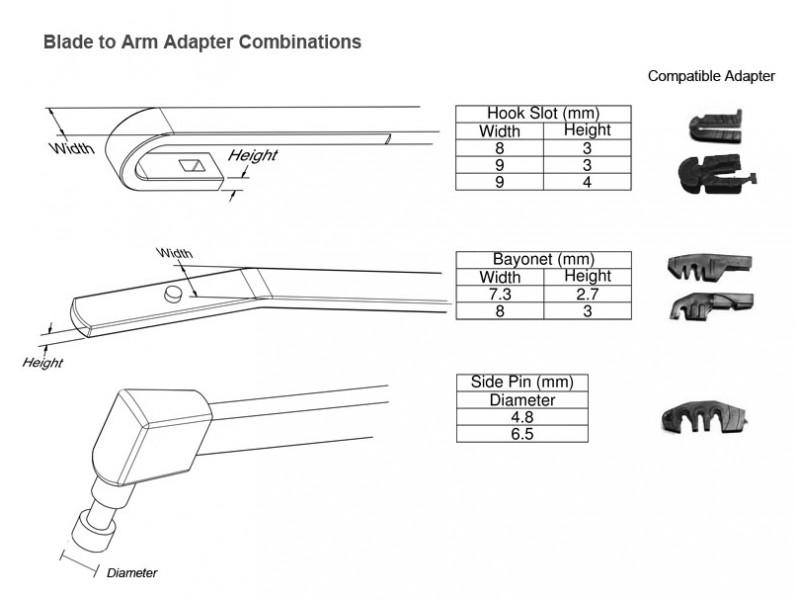 ADAPTER UMETAK BRISACA 6/8mm(4 komada)