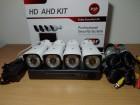 AHD DVR FullHD + KOMPLET+4 Kamere za nadzor 1.3Mpix+80m