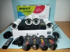 AHD DVR FullHD + KOMPLET+4 Kamere za nadzor 2Mpix+80m