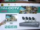 AHD VIDEO NADZOR-4 KAMERE 2 Mpx !!!! + DVR+4X20m kabla