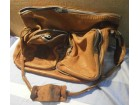 AILEE stara francuska kožna torba na sklapanje