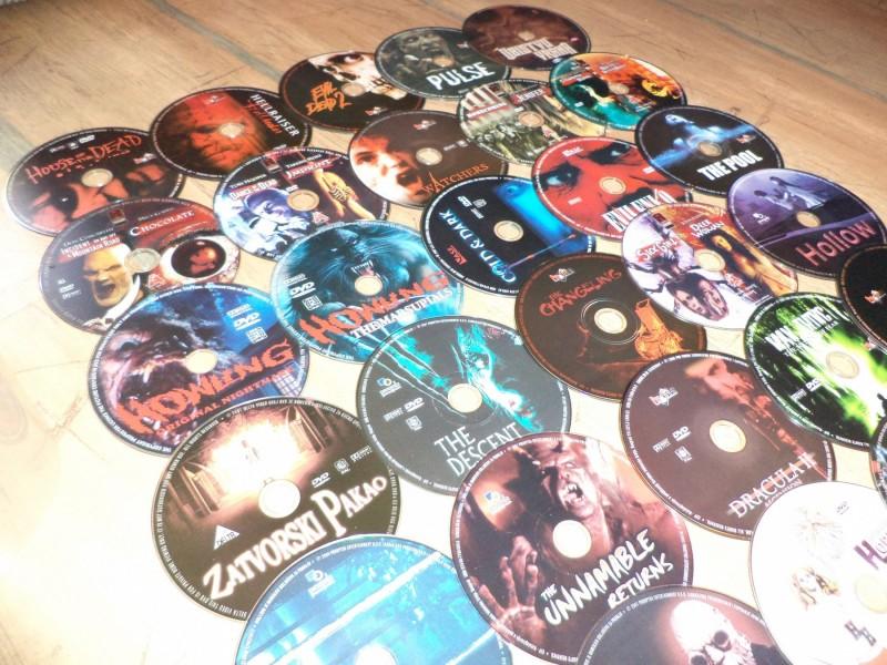 AKCIJA *** DVD kolekcija HOROR FILMOVI (30 DVDa). NOVO!