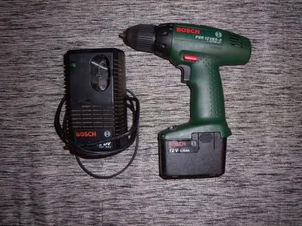 AKU busilica Bosch PSR 12 VES-2 (2)