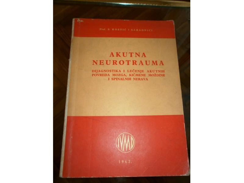 AKUTNA NEUROTRAUMA,dijagnostika i lecenje Prof.S.Kostic