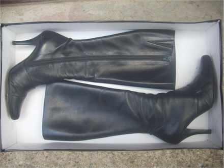 ALBANO kožne čizme br.36