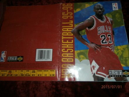 ALBUM NBA BASKETBALL 95-96