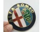 ALFA ROMEO znak - 74 mm - aluminijumski