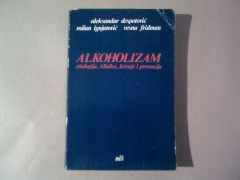 ALKOHOLIZAM,GRUPA AUTORA