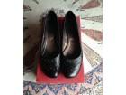 ALPINA crne kožne cipele sa nitnama